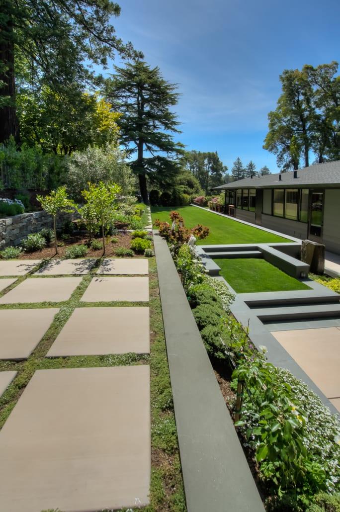 Mid Century Modern David Thorne Landscape Architect
